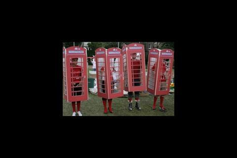 Make as phone boxes at Architectural It's a Knockout